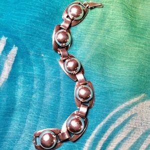 Zuni Native American Sterling Silver Bracelet